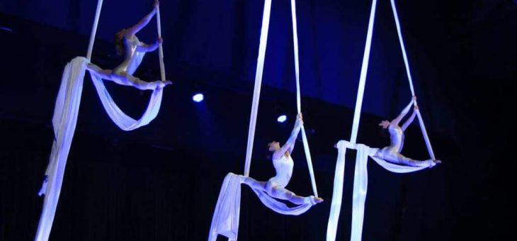 Un spectacle de tissu et cerceau aérien pour impressionnervos invités